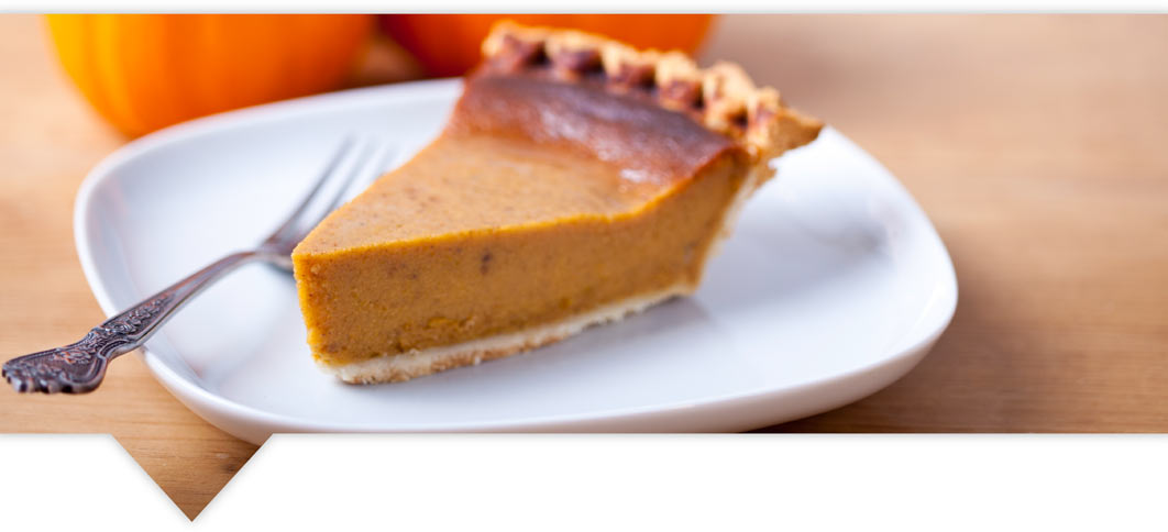 Delicious vegetarian and vegan versions of holiday foods, including voluptuous pumpkin pie.