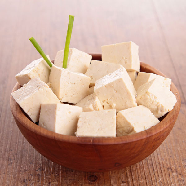 Vegetarian and vegan iron rich foods to help you stay healthy and prevent anemia, including tofu.