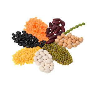 Vegan and Vegetarian protein rich foods for healthy vegetarian or vegan meals, including beans.