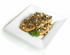 7 days of easy vegetarian meal ideas for new vegetarians and vegans, including Gardein Piccata.