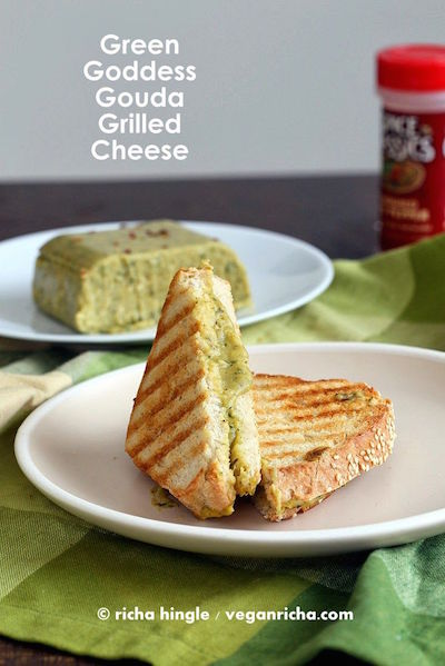 Green GoddessGouda Grilled Cheese