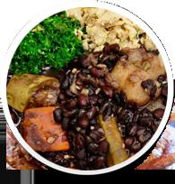 Receitas veganas e vegetarianas fáceis e deliciosas.