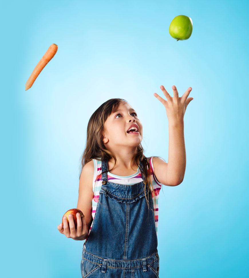 Raising vegetarian and vegan children is healthy.