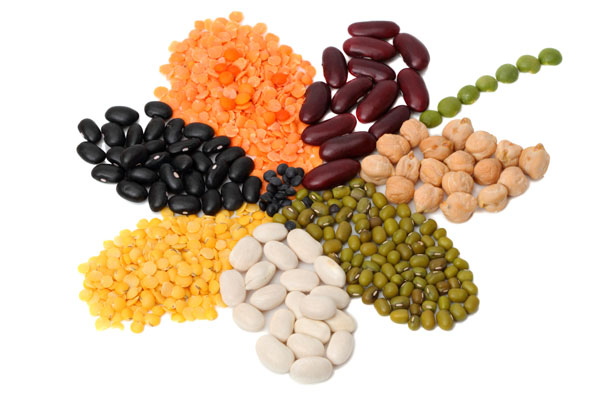 Vegetarian and vegan iron rich foods to help you stay healthy and prevent anemia, including beans.
