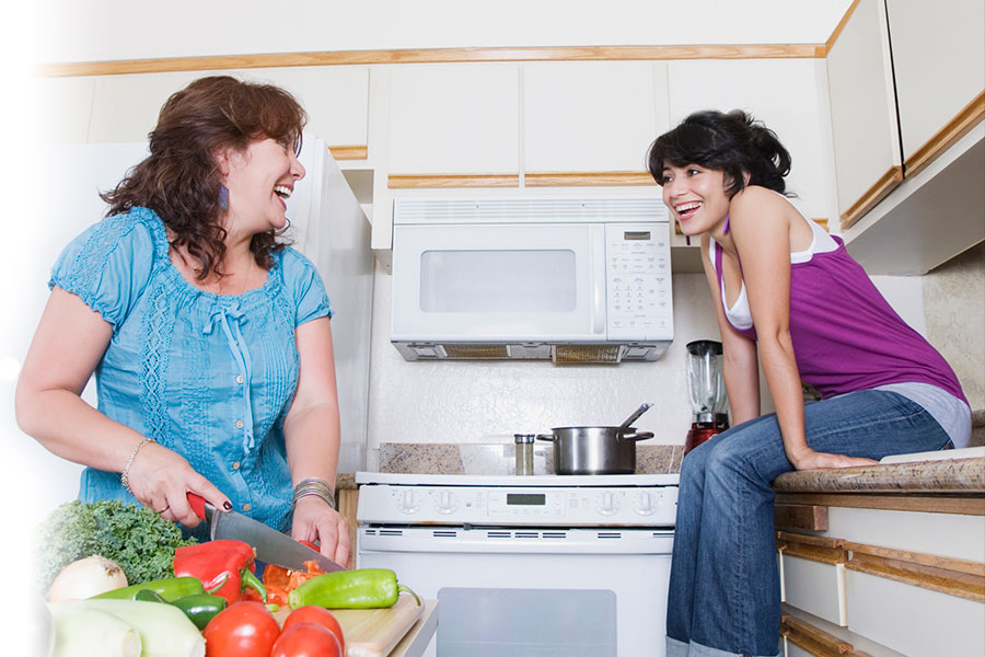 What to say to parents and other family members about becoming vegetarian or vegan or eating less meat.