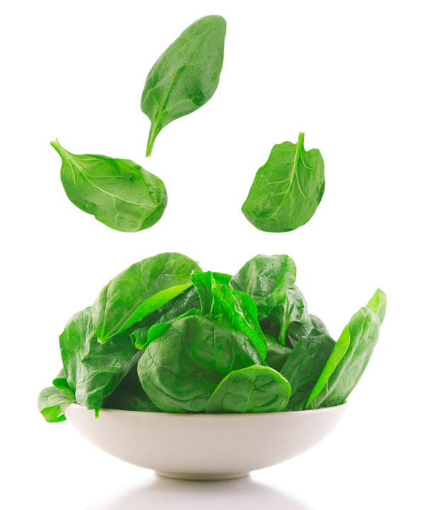 Vegetarian and vegan iron rich foods to help you stay healthy and prevent anemia, including leafy greens.