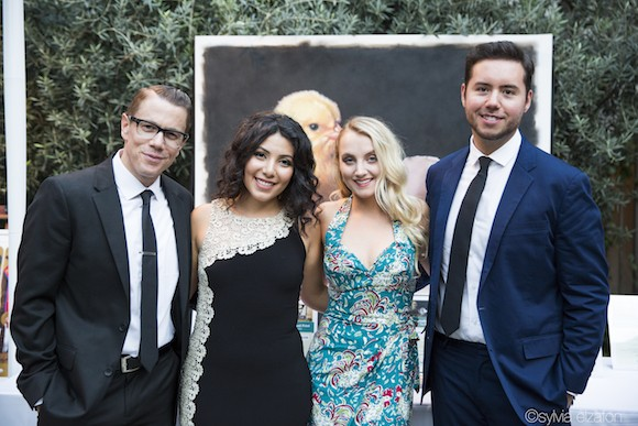 "The celebration began with a VIP reception and unforgettable ""blue carpet"" experience. Kat Von D, Kevin Nealon, Mya, Daniella Monet, Moby, Tony Kanal, ..."