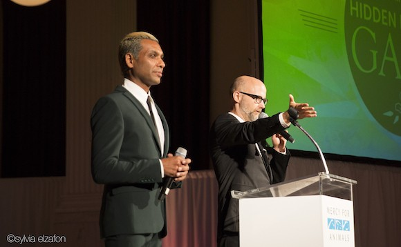 In addition, Russell Simmons presented The Compassionate Leadership Award to longtime MFA supporter Ari Nessel, founder and president of The Pollination ...