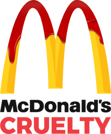 McDonalds Cruelty Logo