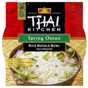 Thai Kitchen S Spring Onion Rice Noodle Soup Bowl