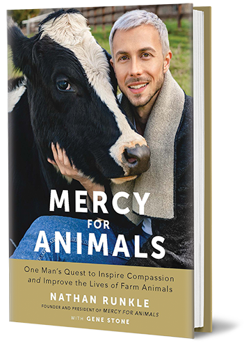 Nathan Runkle's new book, Mercy For Animals