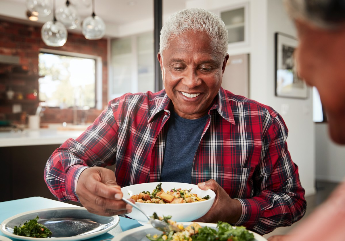 Black VegFest Organizers Teach Seniors How to Make Healthy Plant-Based Meals