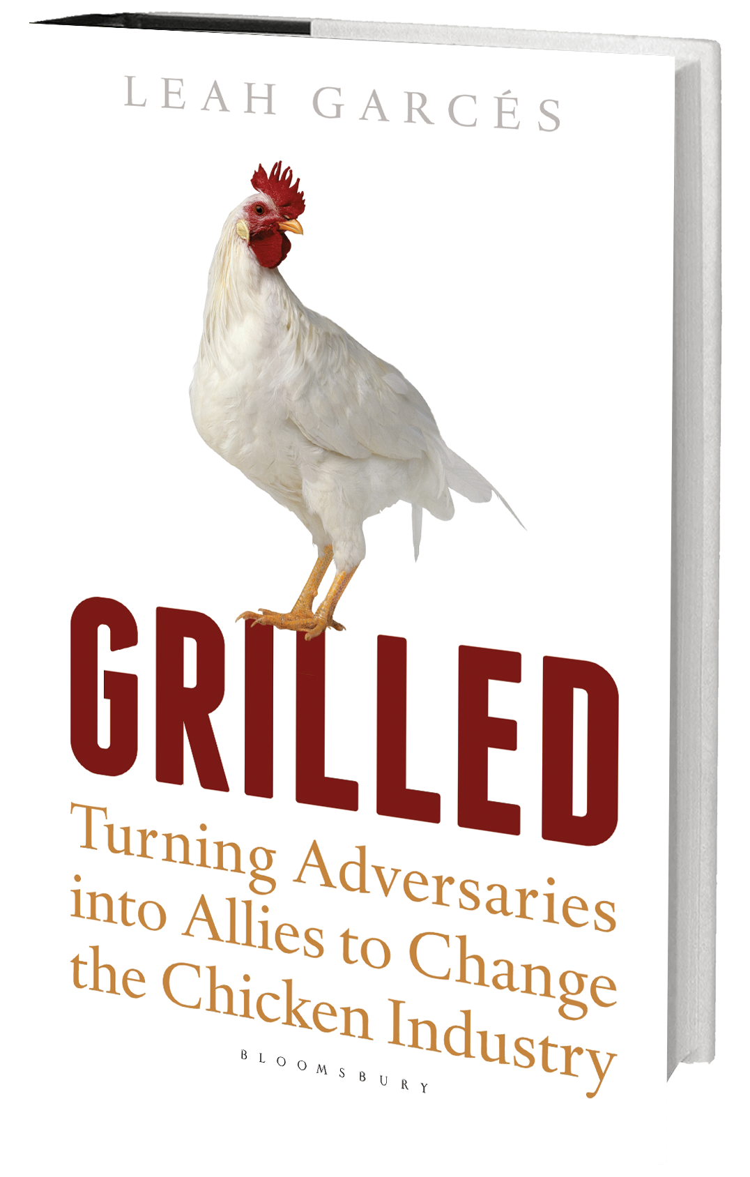 Grilled book
