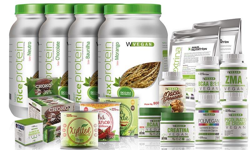 W Vegan produtos