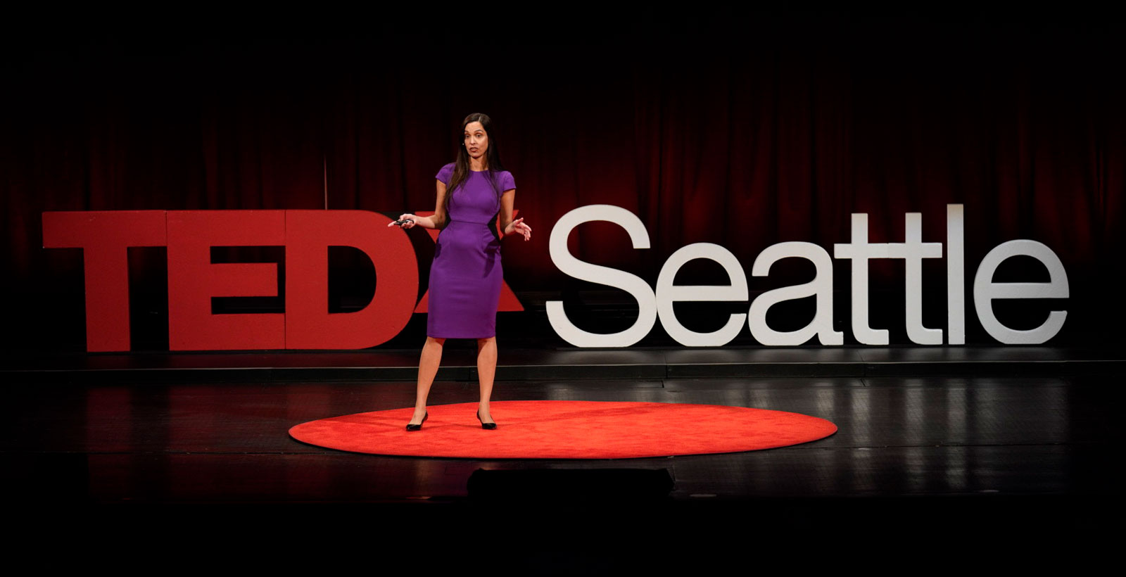 Leah Garces at TEDx Seattle