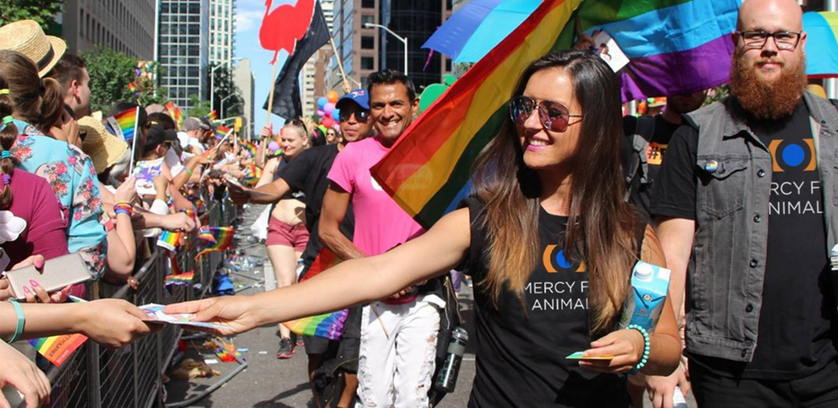 Coming Out for Compassion: How Mercy For Animals Celebrates Pride