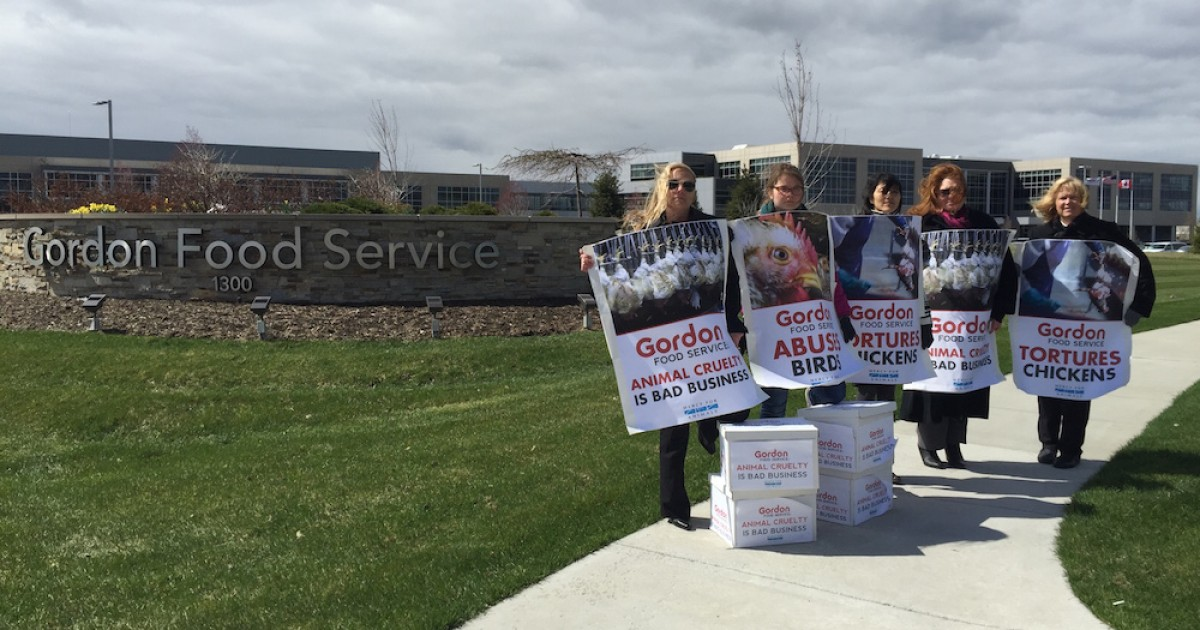 120,000 Signatures Delivered to Gordon Food Service Demanding End to